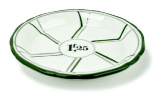 Absinthe coaster or saucer